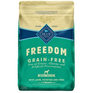 Blue Freedom Grain-Free Lamb Recipe Dry Food for Adult Dogs